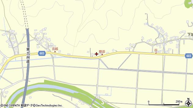 大分県佐伯市長谷6900周辺の地図