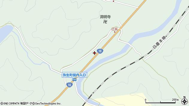 大分県佐伯市弥生大字江良904周辺の地図