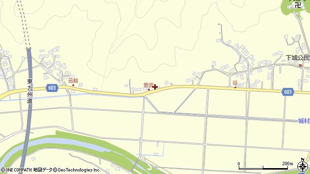 大分県佐伯市長谷6886周辺の地図