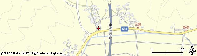 大分県佐伯市長谷6448周辺の地図
