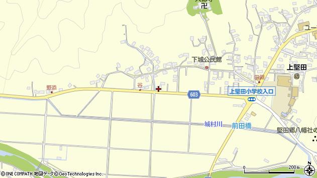 大分県佐伯市長谷7293周辺の地図