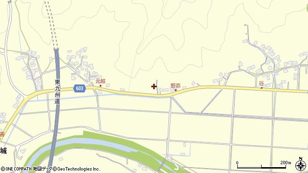 大分県佐伯市長谷6908周辺の地図