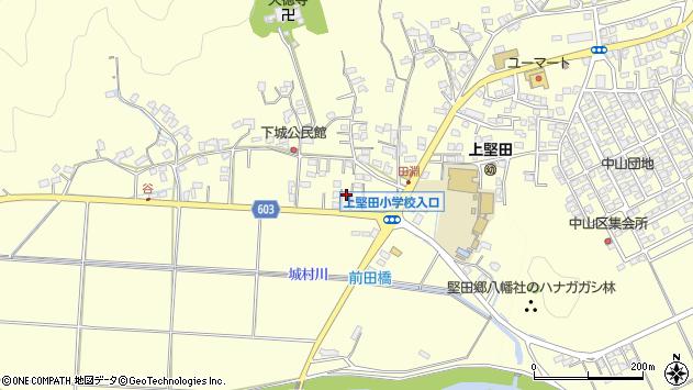 大分県佐伯市長谷7493周辺の地図