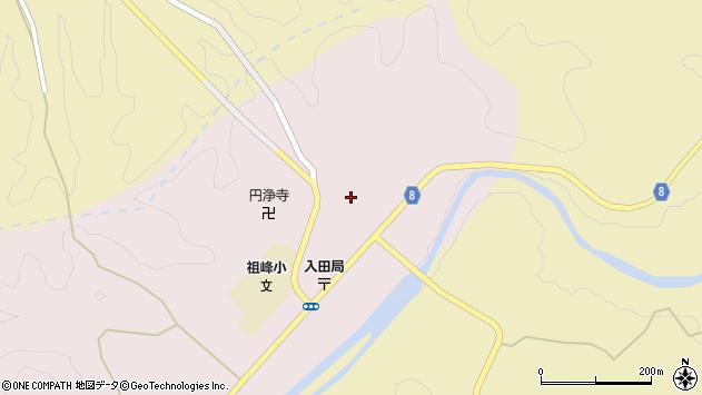 大分県竹田市門田190周辺の地図