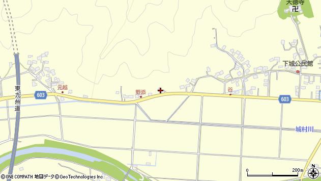 大分県佐伯市長谷6842周辺の地図