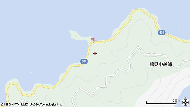 大分県佐伯市鶴見大字中越浦496周辺の地図