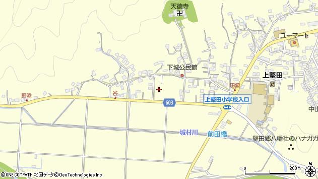 大分県佐伯市長谷下城区周辺の地図