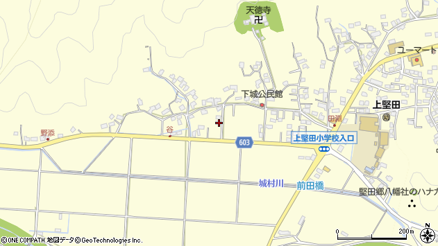 大分県佐伯市長谷7393周辺の地図