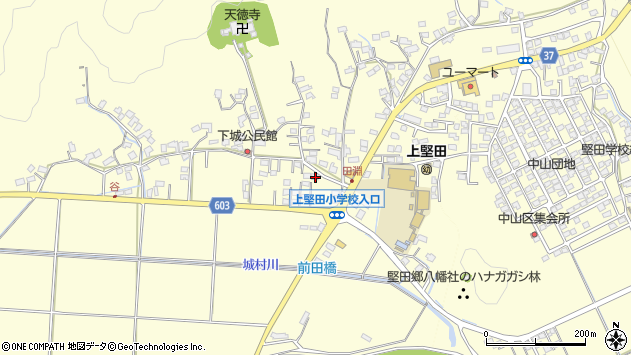 大分県佐伯市長谷7498周辺の地図