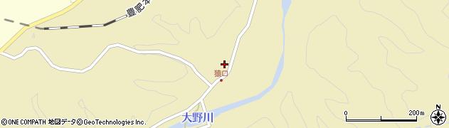 大分県竹田市吉田853周辺の地図