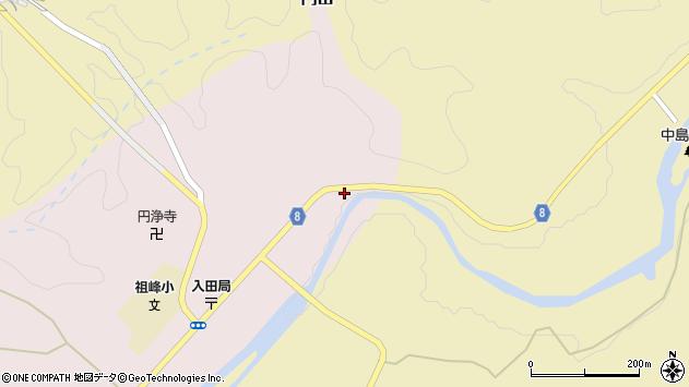 大分県竹田市門田2周辺の地図