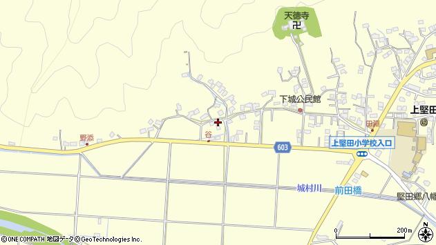 大分県佐伯市長谷7289周辺の地図