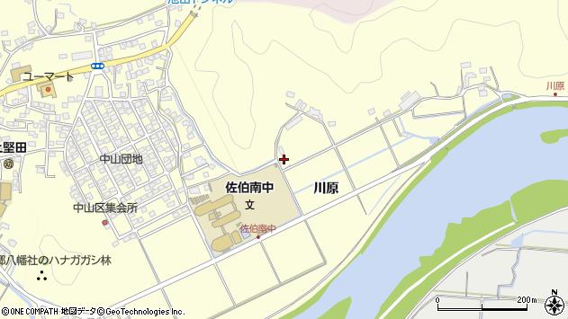 大分県佐伯市長谷9942周辺の地図