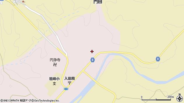 大分県竹田市門田83周辺の地図