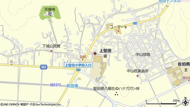大分県佐伯市長谷7738周辺の地図
