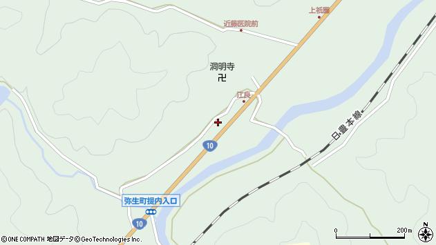 大分県佐伯市弥生大字江良1011周辺の地図