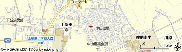 大分県佐伯市長谷9876周辺の地図