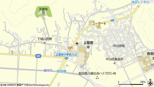 大分県佐伯市長谷9089周辺の地図