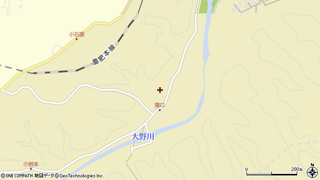 大分県竹田市吉田863周辺の地図