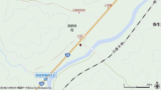 大分県佐伯市弥生大字江良1029周辺の地図