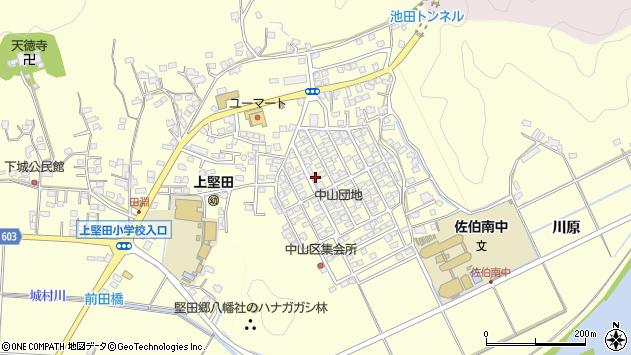 大分県佐伯市長谷10191周辺の地図