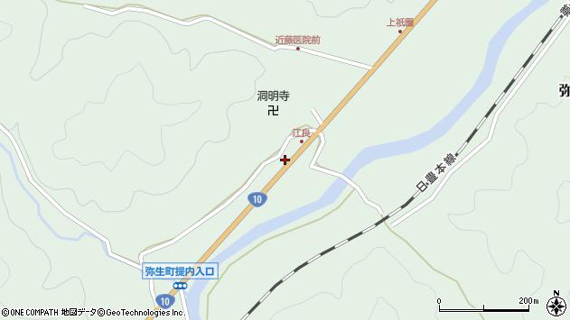 大分県佐伯市弥生大字江良1026周辺の地図