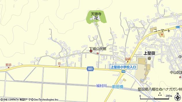 大分県佐伯市長谷9517周辺の地図