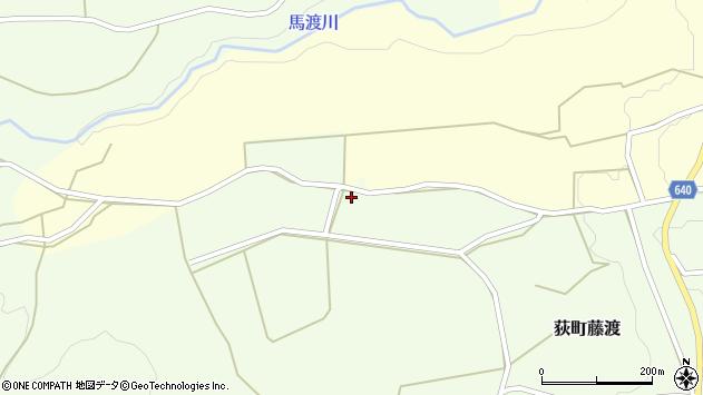 大分県竹田市荻町藤渡358周辺の地図