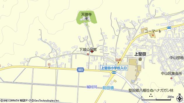 大分県佐伯市長谷7480周辺の地図