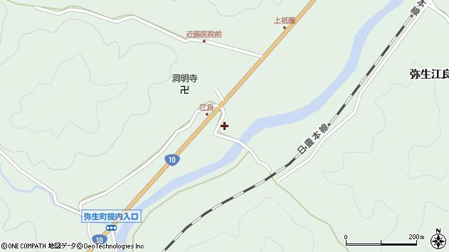 大分県佐伯市弥生大字江良2269周辺の地図