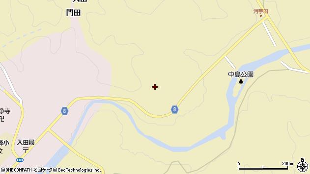 大分県竹田市入田367周辺の地図
