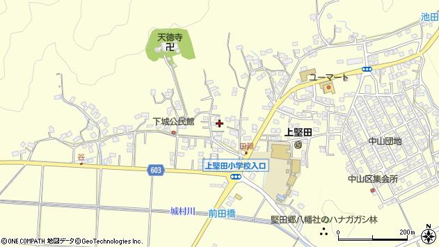 大分県佐伯市長谷9152周辺の地図