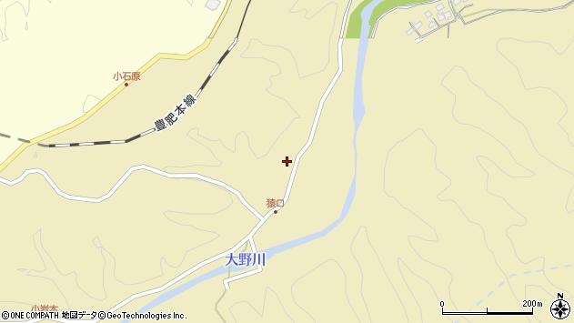 大分県竹田市吉田868周辺の地図