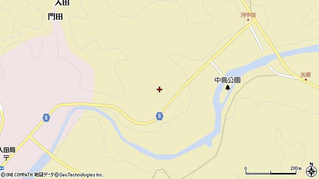 大分県竹田市入田180周辺の地図