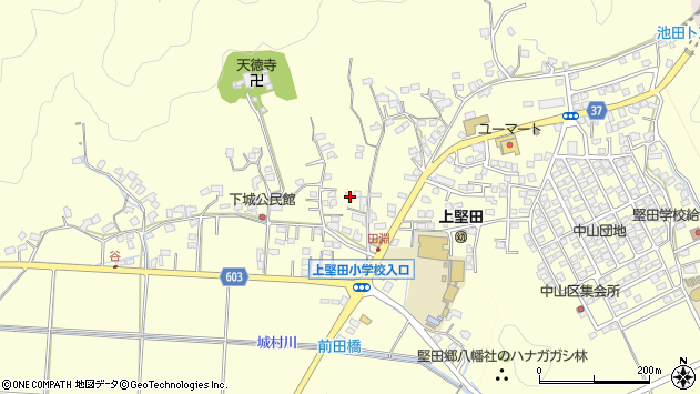 大分県佐伯市長谷9156周辺の地図