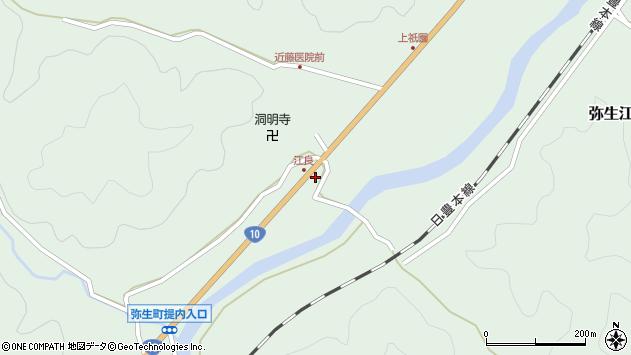 大分県佐伯市弥生大字江良1034周辺の地図
