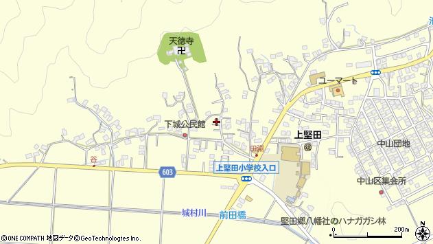 大分県佐伯市長谷7485周辺の地図