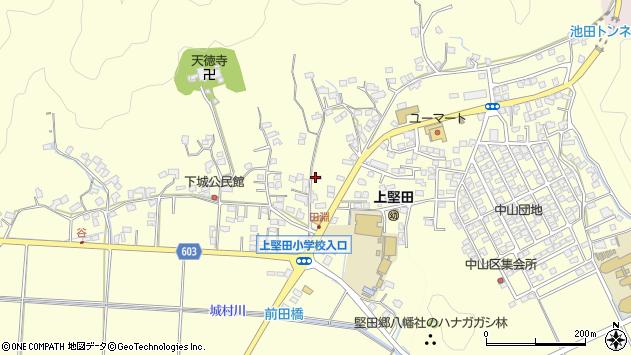 大分県佐伯市長谷9161周辺の地図