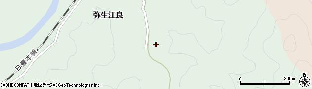 大分県佐伯市弥生大字江良2648周辺の地図
