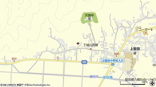大分県佐伯市長谷8721周辺の地図