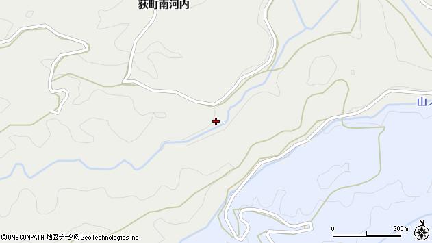 大分県竹田市荻町南河内1024周辺の地図