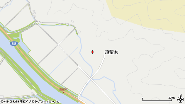 大分県佐伯市木立6696周辺の地図