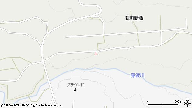 大分県竹田市荻町新藤63周辺の地図