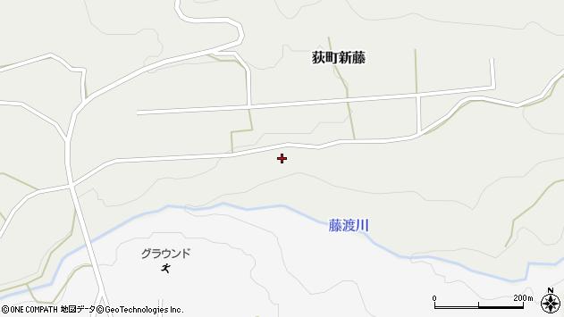 大分県竹田市荻町新藤新藤周辺の地図