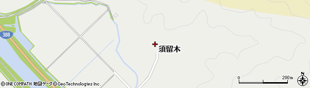 大分県佐伯市木立6674周辺の地図