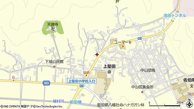 大分県佐伯市長谷9070周辺の地図