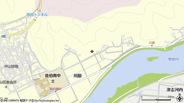 大分県佐伯市長谷10466周辺の地図