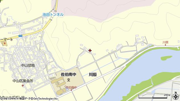大分県佐伯市長谷10431周辺の地図