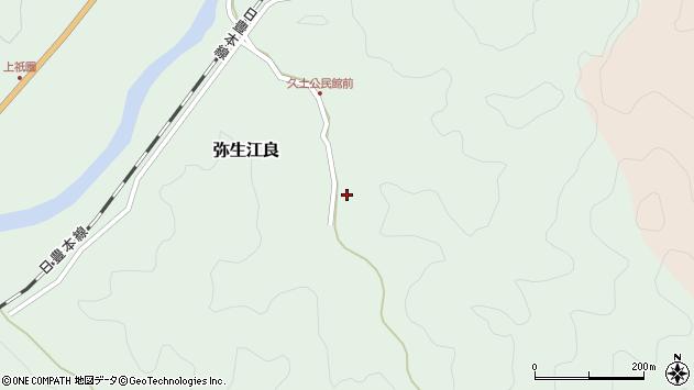 大分県佐伯市弥生大字江良2651周辺の地図
