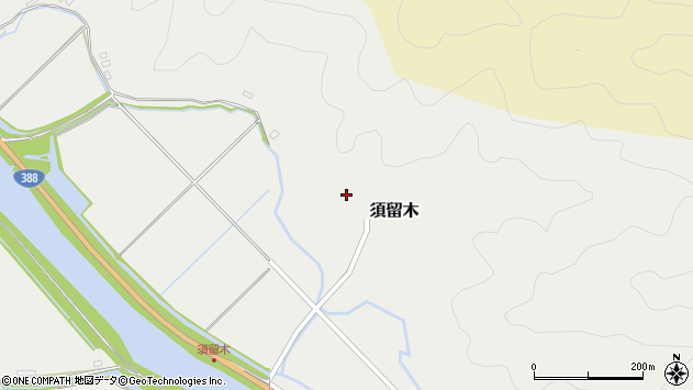 大分県佐伯市木立6684周辺の地図